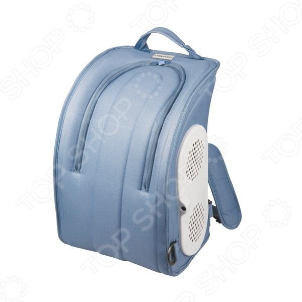 Сумка-холодильник Coolfort CF-1216Термосумки, сумки-холодильники<br>Сумка-холодильник Coolfort CF-1216 идеальна для сохранения продуктов питания в пеших прогулках или пикниках, особенно в жаркие летние месяцы. Устройство обеспечивает максимальное охлаждение до 12 С ниже температуры окружающей среды. Уникальный пенополиуретановый слой термоизоляции ThermoFORT, надолго сохранит свежесть продуктов и прохладу напитков. Встроенная вентиляционная система обеспечивает быстрый и постоянный эффект охлаждения. Питание модели осуществляется через автомобильный прикуриватель. Кабель удобно хранить в специальной кармане. Холодильник выполнен в виде рюкзака, что гарантирует удобство транспортировки. Объем сумки-холодильника Coolfort CF-1216 составляет 16 л.<br>