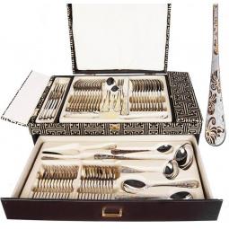 Набор столовых приборов в чемодане Mayer&Boch MB-24195 «Император»