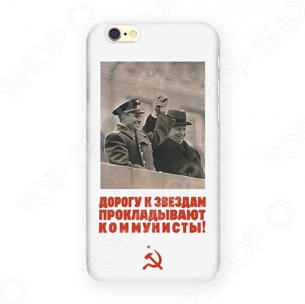Чехол для iPhone 6 Mitya Veselkov «Дорога к звездам» чехол для iphone 6 mitya veselkov много скандинавских лошадок