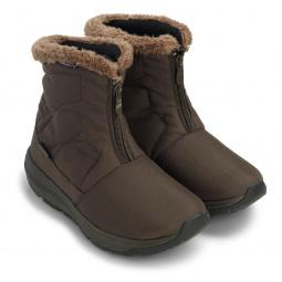 Купить Ботинки зимние адаптивные женские Walkmaxx. Цвет: коричневый