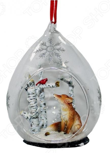 Елочное украшение Crystal Deco «Встреча друзей» 1707781Новогодние шары. Игрушки<br>Елочное украшение Crystal Deco Встреча друзей 1707781 замечательный декоративный элемент, который поможет создать атмосферу праздника и подарит новогоднее настроение. Изделие прекрасно само по себе, однако в сочетании с другими новогодними атрибутами будет смотреться еще лучше. Товары торговой марки Crystal Deco выполнены с большим вниманием к деталям из качественных экологичных материалов.<br>