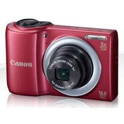 фото Фотокамера цифровая Canon PowerShot A810. Цвет: красный