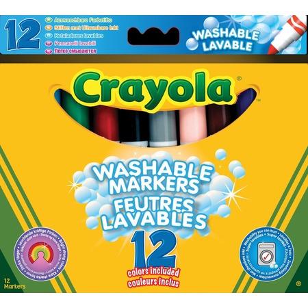 Купить Набор фломастеров Crayola Super Washable