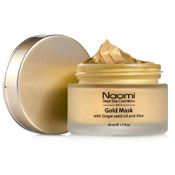 фото Маска для лица Naomi Gold mask with Grape seed oil and Aloe