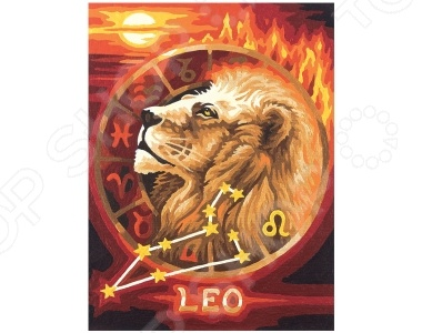 Набор для рисования по номерам Schipper «Лев» наборы для рисования цветной картины по номерам колокольчики мои