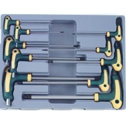 Купить Набор ключей торкс угловых с рукояткой Force F-51010T