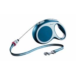 Купить Поводок-рулетка Flexi VARIO M. Цвет: синий