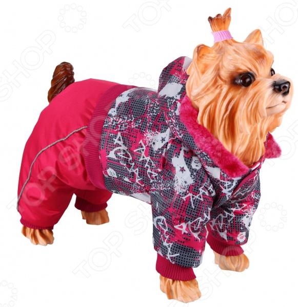 Комбинезон для собак DEZZIE 563570 триол комбинезон зимний микки для собак trio l