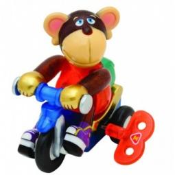 Купить Игрушка заводная Z-Wind Ups Мартышка на велосипеде Мо