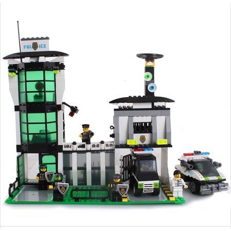 Купить Конструктор игровой для ребенка Brick «Полицейский пост» 129