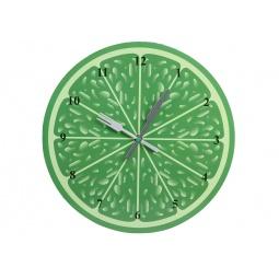 фото Часы настенные Pomi d'Oro «Сочный фрукт». Рисунок: лайм