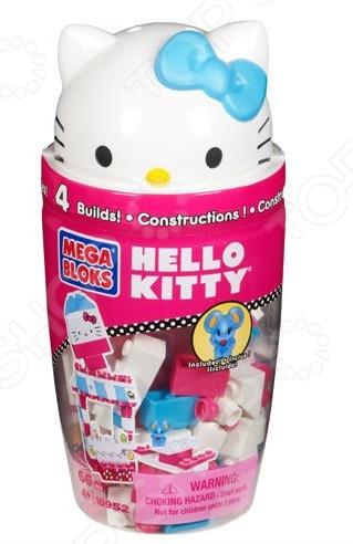 Товар продается в ассортименте. Цвет и вид товара при комплектации заказа зависит от наличия товарного ассортимента на складе. Мини-конструктор Mega Bloks Hello Kitty в тубусе это миниатюрный конструктор, который в готовом виде станет одной из любимых игрушек вашего ребенка. Высокое качество пластика, дизайн деталей и точная инструкция позволят добиться изумительной реалистичности у собранной модели. Сборка конструкции может занять от 10 минут до нескольких часов, ведь необходимо проявлять внимательность в подборе каждой детали. Собранная фигурка сможет украсить интерьер детской комнаты. В комплекте вы найдете детали для создания готовой модели, они достаточно крупные для детей от 3 лет. Для ребенка очень полезно собирать конструкторы такого типа, ведь развивается мелкая моторика рук, логическое и пространственное мышление, усидчивость и координация движений.