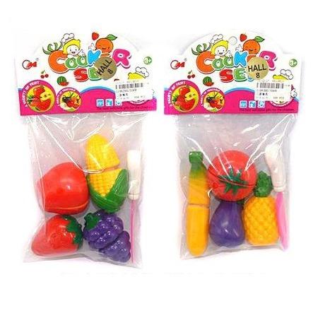 Купить Игровой набор для девочки Shantou Gepai «Овощи и фрукты для резки». В ассортименте