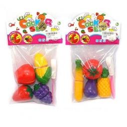 фото Игровой набор для девочки Shantou Gepai «Овощи и фрукты для резки». В ассортименте