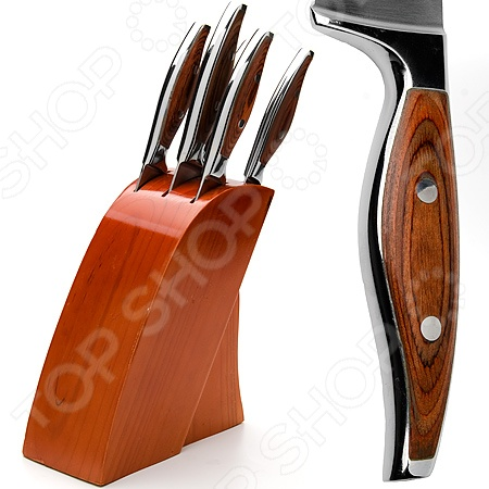 Набор ножей Mayer&amp;amp;Boch MB-23626Ножи<br>Набор ножей Mayer Boch MB-23626 замечательный, многофункциональный набор ножей, который обязательно пригодится на кухне. Ножи отличают не только прекрасные технические характеристик, но стильный современный дизайн, который делает работу с ними ещё более приятной и комфортной. Лезвия выполнены из высококачественной каленой высоко-углеродистой каленой стали, которая характеризуется прекрасной износоустойчивостью и отличными режущими свойствами кромки клинка. Эргономичная рукоять из высококачественного дерева обеспечивает удобный и комфортный хват. В набор входят 5 ножей: поварской нож 20,3 см , хлебный нож 20,3 см , разделочный нож 20,3 см , универсальный нож 12,7 см , нож для очистки овощей и фруктов 8,9 см . Теперь вы сможете без труда выполнять любой вид кухонных работ: нарезать или измельчать овощи или фрукты, разделывать и нарезать мясо, рыбу. Прочные и надежные изделия обладают стильным современным дизайном, который придется по душе даже самой требовательной хозяйке. Преимущества набор ножей Mayer Boch MB-23626:  клинки из высокоуглеродистой каленой стали, которая отличается прекрасными режущими свойствами;  клинообразное сечение лезвий позволяет им оставаться острыми как можно дольше;  простое использование и уход;  легкая заточка;  подарочная коробка. Удобная деревянная подставка с полимерным покрытием обеспечит правильное и рациональное хранение изделий. Готовьте быстро и вкусно с набором ножей Mayer Boch MB-23626!<br>