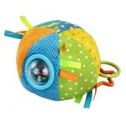 фото Мягкая игрушка развивающая Жирафики «Цветной мячик». В ассортименте