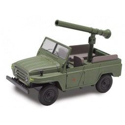 фото Модель армейского автомобиля Пламенный Мотор 870148 Jeep «Военный»