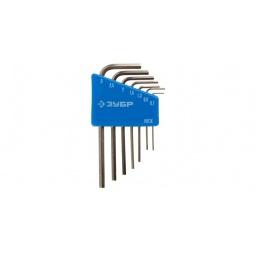 фото Набор ключей имбусовых для точных работ Зубр «Эксперт Мини» 27477-H8