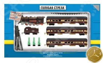 Набор железной дороги игрушечный Голубая стрела 87140 набор железной дороги на радиоуправлении голубая стрела классик 87186