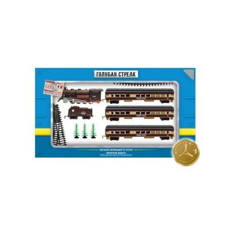 Купить Набор железной дороги игрушечный Голубая стрела 87140