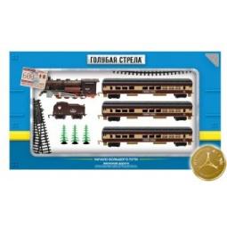 фото Набор железной дороги игрушечный Голубая стрела 87140