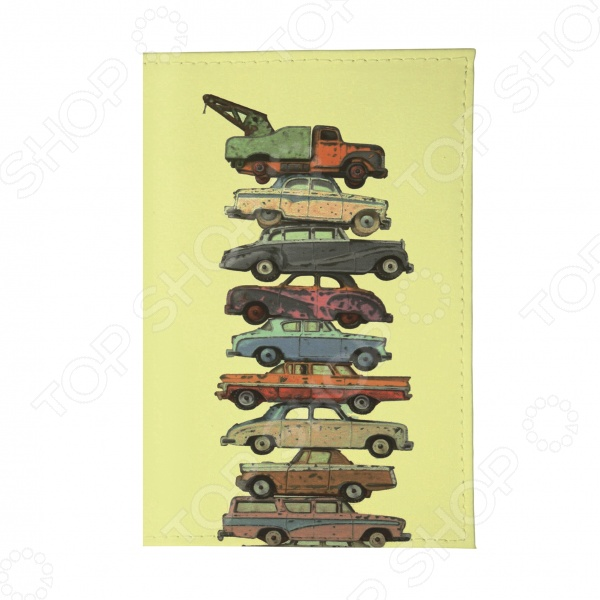 Обложка для паспорта Mitya Veselkov «Тачки на прокачку»