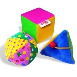 фото Мягкая игрушка развивающая Мякиши «Набор для дидактических игр»
