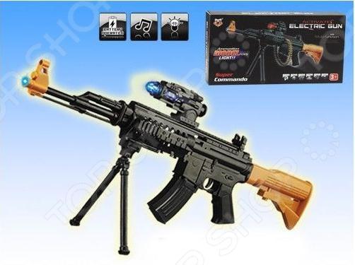 Автомат игрушечный 1707317 1 toy игрушечный автомат пулемет взвод