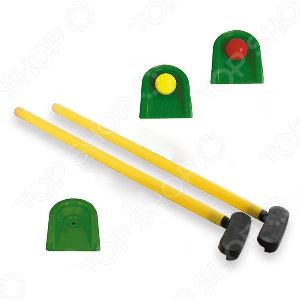 Набор для игры в мини-гольф: клюшки, мячи и лунки У473