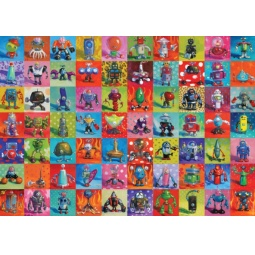 Купить Пазл 2000 элементов Heye «Роботы» Herry Stonson