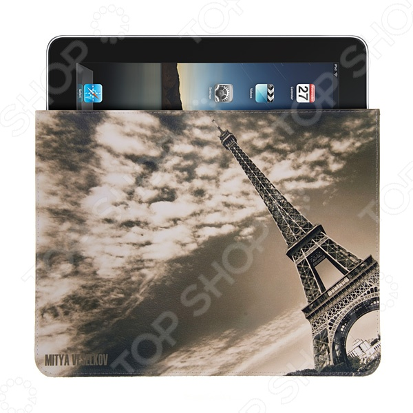 Чехол для iPad Mitya Veselkov «Эйфелева в облаках» mitya veselkov чехол кассета розовый case5 104