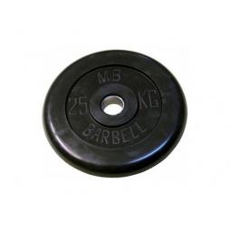 фото Диск MB Barbell для штанги. Диаметр отверстия диска: 25 мм. Вес в кг: 25 кг