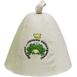 Купить Шапка для бани и сауны Банные штучки «Принц!... сильно заколдован»