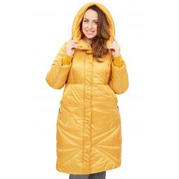 Купить Пальто D`imma «Адела». Цвет: горчичный