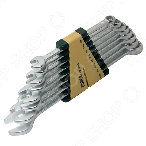 Набор ключей комбинированных Force F-5086S  force 5121 набор комбинированных ключей 8 23 мм