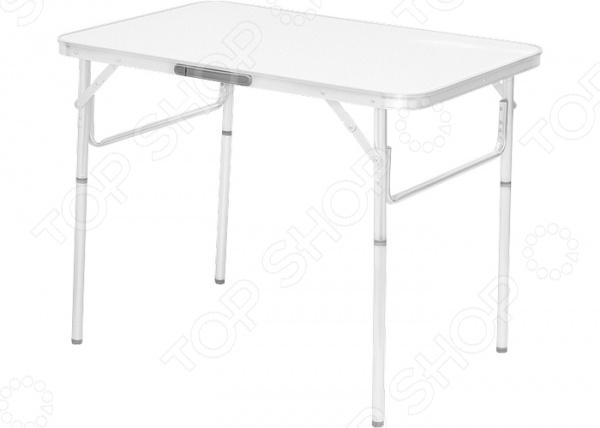 Стол складной PALISAD Camping 69583Табуреты, стулья, столы<br>Стол складной PALISAD Camping 69583 отличный стол для пикников, рыбалки и кемпинга. Благодаря легкому весу и складной конструкции его очень удобно брать с собой в поездку. Каркас стола выполнен из высокопрочного алюминия. Очень компактный и не занимает много места при транспортировке и хранении.<br>