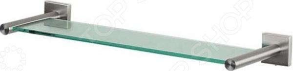 Полка для ванной Spirella Nyo 1015574Полки для ванной<br>Полка для ванной Spirella Nyo 1015574 представляет собой удобный и практичный предмет мебели, который отлично впишется в интерьер вашей ванной комнаты, добавит ей изысканности, элегантности и оригинальности. Модель выполнена в строгом лаконичном дизайне из прочного стекла и снабжена двумя хромированными держателями из нержавеющей стали. Подходит для хранения мыла, шампуня, кремов, подставок для зубных щеток и т.д. Для удобства использования и экономии пространства у раковины, полка оборудована креплениями на стену. Длина изделия составляет 60 см.<br>