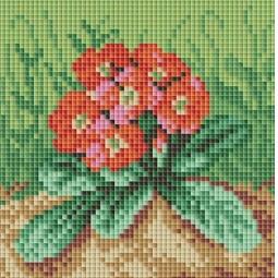 фото Набор для создания мозаичной картины Белоснежка «Цветущая примула»