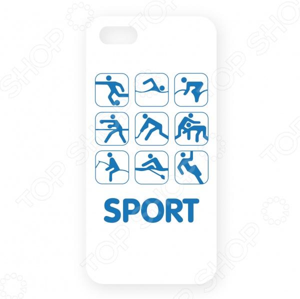Чехол для iPhone 5 Mitya Veselkov SportЗащитные чехлы для iPhone<br>Чехол для iPhone 5 Mitya Veselkov Sport аксессуар, предназначенный для защиты вашего смартфона от легких механических повреждений: сколов, царапин, незначительных ударов. Чехол разработан специально для iPhone 5. Легко крепится к гаджету и надежно защищает его.  Аксессуар выполняет не только защитную, но и декоративную функцию. Персонализируйте свой телефон, подобрав чехол с понравившимся дизайном.  Изделие создано из гипоаллергенного пластика, что довольно важно. Ведь сегодня мобильные гаджеты значительную часть дня находятся в руках пользователя.<br>