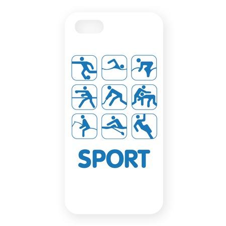 Чехол для iPhone 5 Mitya Veselkov Sport