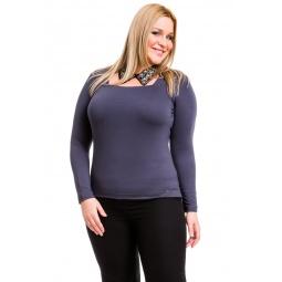 фото Кофта Mondigo XL 7014. Цвет: темно-серый. Размер одежды: 50