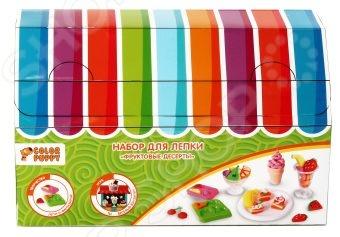 Набор для лепки из пластилина Color Puppy 631029 «Фруктовые десерты»