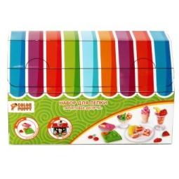 фото Набор для лепки из пластилина Color Puppy 631029 «Фруктовые десерты»