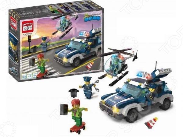 Конструктор игровой Brick Police 1717114 цена