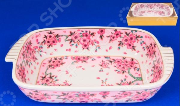 фото Блюдо-шубница Elan Gallery «Сакура» 471105, Салатницы
