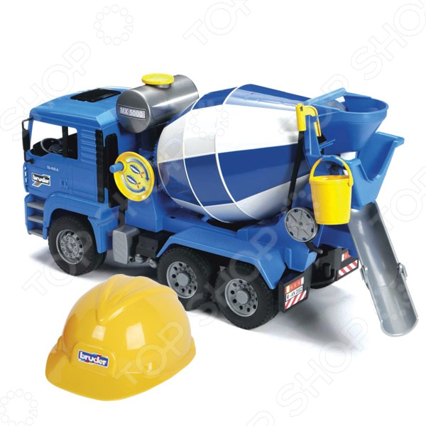 фото Бетономешалка игрушечная Bruder MAN, Машинки