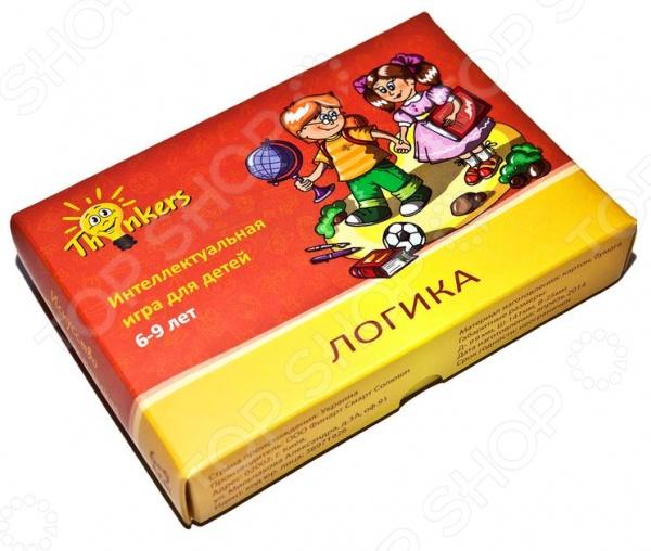 Игра логическая Thinkers «Логика» настольная игра thinkers башня таварра 0708