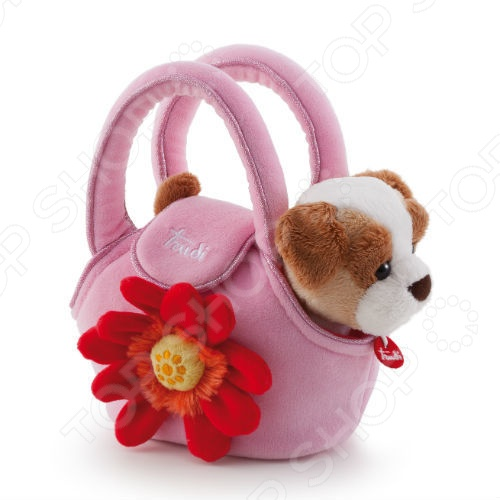 Zakazat.ru: Мягкая игрушка Trudi Щенок в сумочке
