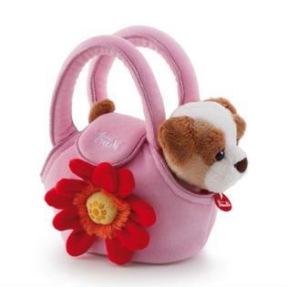 Купить Мягкая игрушка Trudi Щенок в сумочке