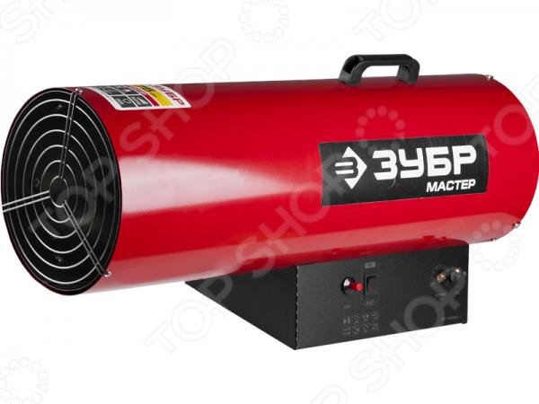 Тепловая пушка Зубр ТПГ-75000_М2Тепловые пушки<br>Пушка тепловая Зубр ТПГ-75000 М2 прибор, используемый для быстрого обогрева и поддержания заданной температуры в цехах, производственных и складских помещениях. Модель практична и удобна в использовании, имеет высокий уровень КПД приближенный к 100 и обеспечивает стабильную подачу тепла при любых условиях эксплуатации. В качестве топлива для пушки используется газ пропан бутан . Обогреватель снабжен мощным двигателем вентилятора, системой пьезоподжига и регулировкой подачи газа. В приборе предусмотрена многоуровневая система безопасности: пушка автоматически отключается при недостаточном количестве запасов топлива, при погасании пламени и в случае перегрева. Благодаря антикоррозионному покрытию корпуса, теплопушку можно использовать для обогрева влажных помещений.<br>